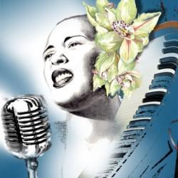 Billie Holiday Blue