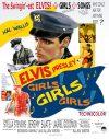 Movie Poster Girls Girls Girls Elvis Art by Betty Harper