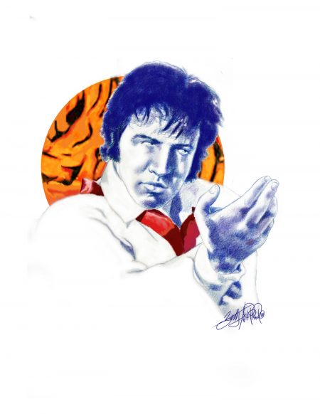 Betty Harper Art - Tiger Man - Elvis